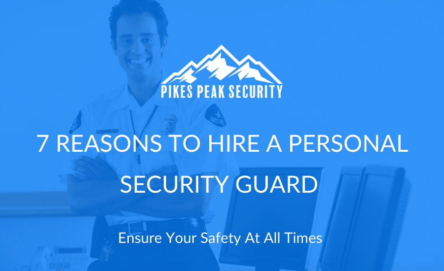 personal security guard smiling